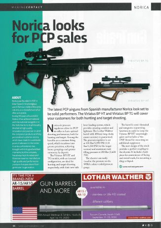 Our Viriatus BP article in Gun Trade World